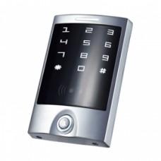 Кодовая клавиатура со встроенным считыватель проксимити карт и брелков YK-1068B