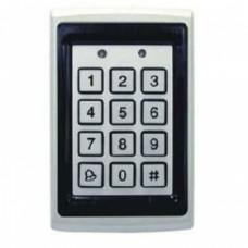 Кодовая клавиатура со встроенным считыватель проксимити карт и брелков  YK-568L