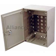 Коробка монтажная под 5 плинтов с замком (209x209x75mm) REXANT
