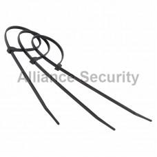 Хомут nylon 400 х 5.0 мм 100 шт черный  профессиональный