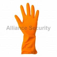 Перчатки латексные желтые М