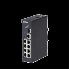 8 портовый сетевой HI-РОЕ коммутатор 2-го уровня Dahua DH-PFS3110-8P-96