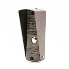 Вызывная панель видеодомофона J2000-DF-АДМИРАЛ AHD (медь)