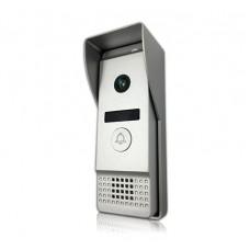 Широкоугольная вызывная панель видеодомофона J2000-DF-АГАТ AHD (серебро)