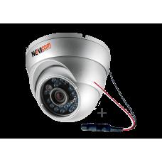 Купольная IP-видеокамера NOVIcam N12W + Микрофон AM16