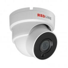 Купольная вандалозащищённая уличная IP-камера со звуком RL-IP24P-S