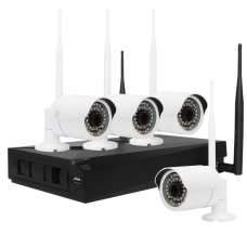 Комплект ST-400-WF IP видеонаблюдения (с несъемной антенной)