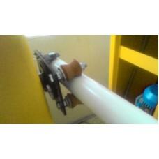 Система откидывания круглой стрелы с регулировкой усилия  удержания и угла откидывания САТРО СОС
