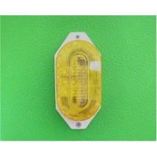 Светодиодная Строб-лампа накладная, жёлтая